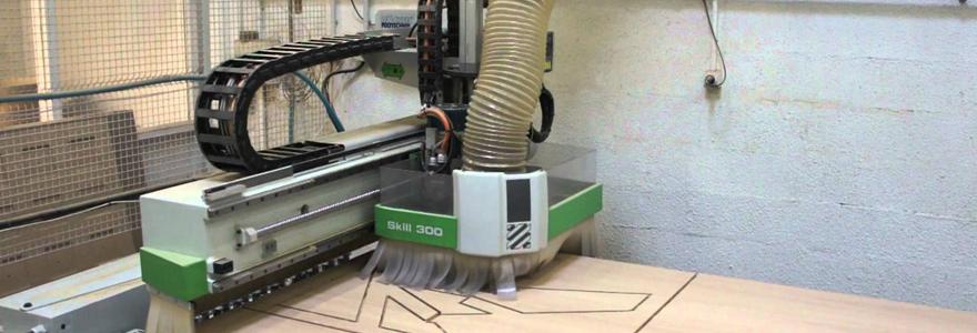 La machine-outil à commande numérique CNC